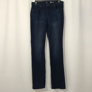 New York & Co Low Rise Bootcut Dark Wash Jeans